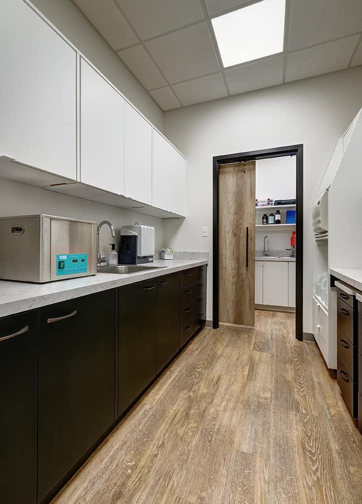 dental office sterilization room