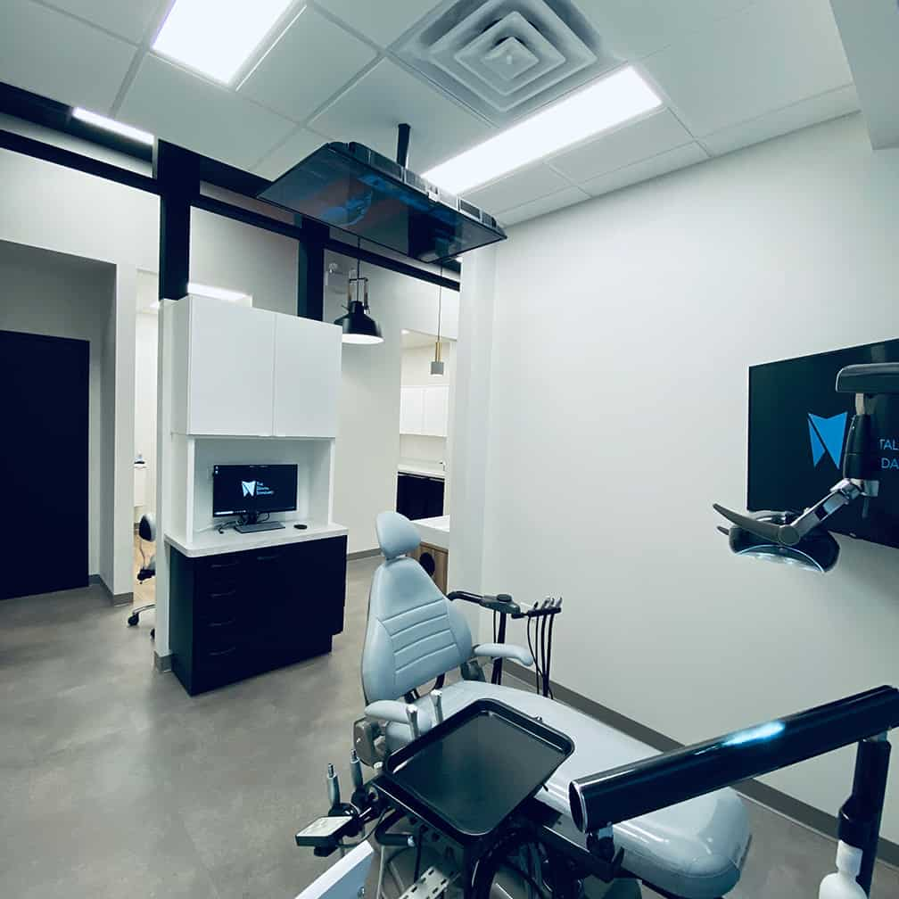 dental office exam room